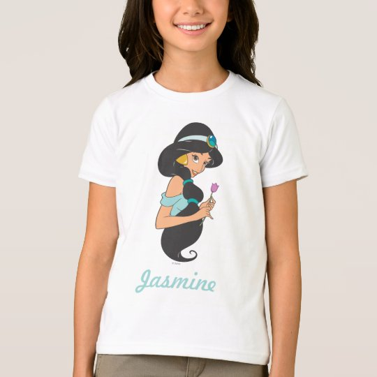 Jasmine Holding Flower T-Shirt