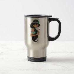 Travel / Commuter Mug with Cartoon Princess Jasmine design