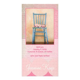Jasmine Kaye Birth Announcement Photo Cards