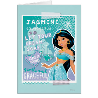 Jasmine - Let Your Dreams Soar Greeting Card