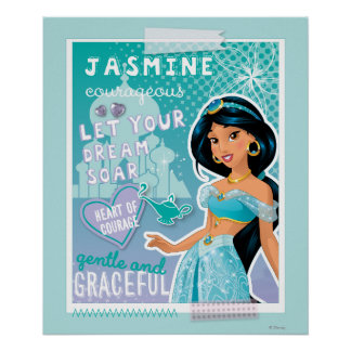 Jasmine - Let Your Dreams Soar Poster