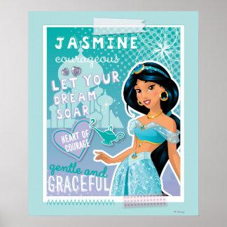 Jasmine - Let Your Dreams Soar Poster