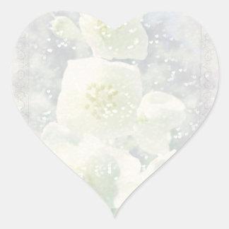 Jasmine Light Heart Sticker