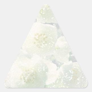 Jasmine Light Triangle Sticker