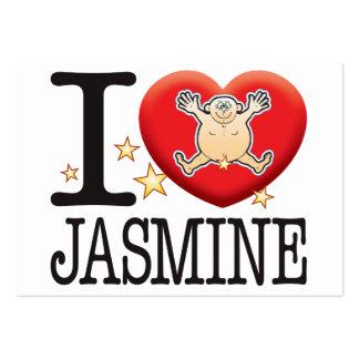 Jasmine Love Man Large Business Card