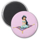 Jasmine on Magic Carpet Magnet