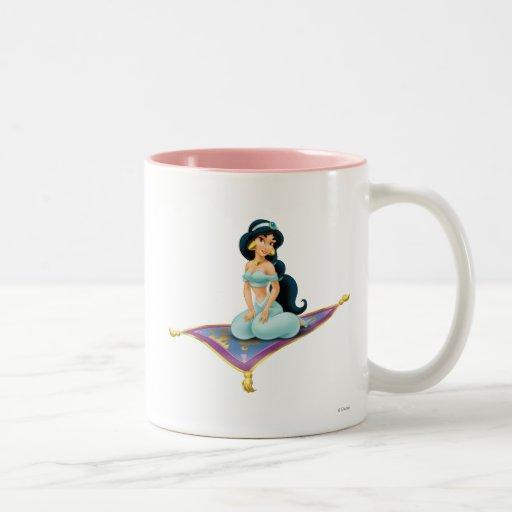Jasmine on Magic Carpet Coffee Mugs