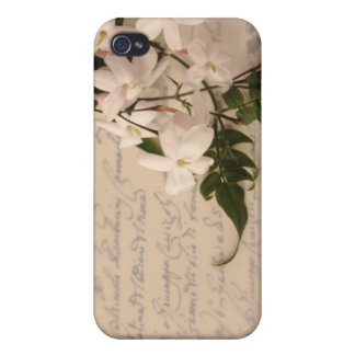 jasmine on old script handwriting iphone case iPhone 4 cover