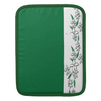 Jasmine over the Green Sleeve For iPads