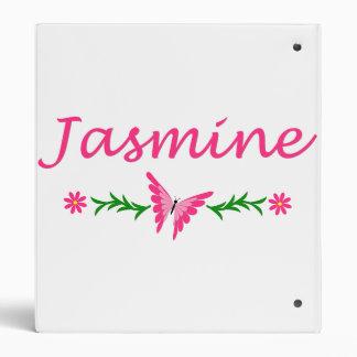 Jasmine (Pink Butterfly) Binder
