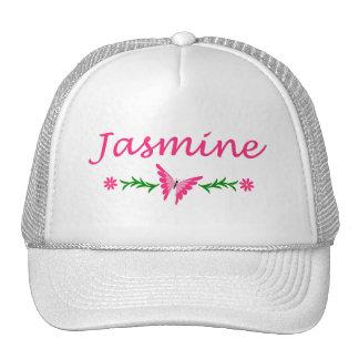 Jasmine Pink Butterfly Hats