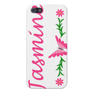 Jasmine (Pink Butterfly) Covers For iPhone 5