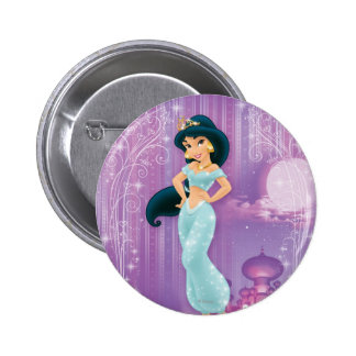Jasmine Princess 2 Inch Round Button