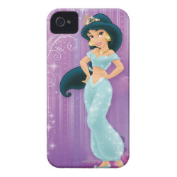 Case-Mate iPhone 4 Barely There Universal Case with Beautiful Princess Jasmine design