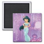 Jasmine Princess Fridge Magnet