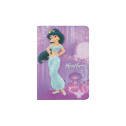 Passport Holder with Beautiful Princess Jasmine design