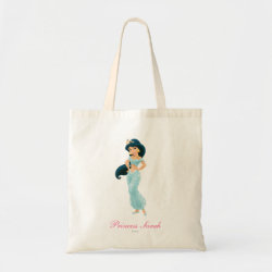 Budget Tote with Beautiful Princess Jasmine design