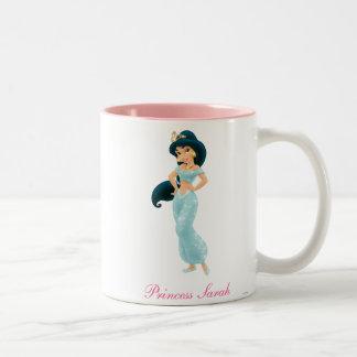 Jasmine Princess Two-Tone Coffee Mug