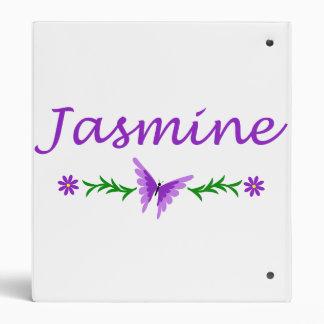 Jasmine (Purple Butterfly) Binder