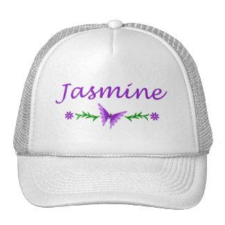 Jasmine Purple Butterfly Trucker Hats