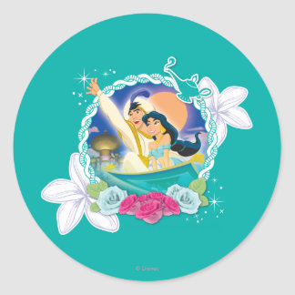Jasmine - Ready for Adventure! Classic Round Sticker