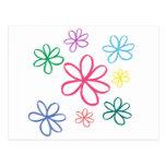 Jasmine Simple Floral Postcard