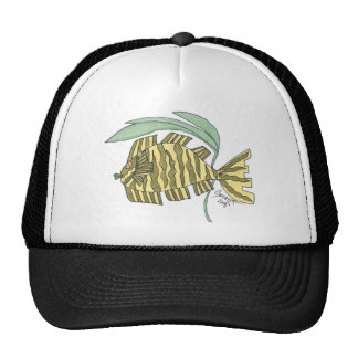 Jasmine Tiger Fish Trucker Hat