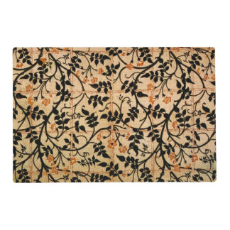 Jasmine trail curtain design, 1868-70 (printed cot placemat