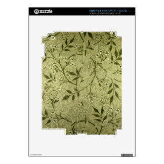 'Jasmine' wallpaper design, 1872 Skin For iPad 3