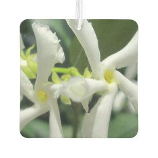 Jasmine White Tubes Flower Car Air Freshener