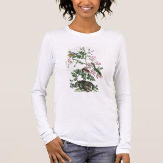 Jasmine: with snake, moth, caterpiller and chrysal long sleeve T-Shirt