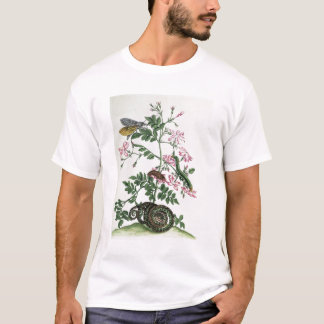 Jasmine: with snake, moth, caterpiller and chrysal T-Shirt