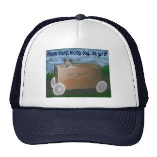 "Jasmine's ""joke"" trucker hat"
