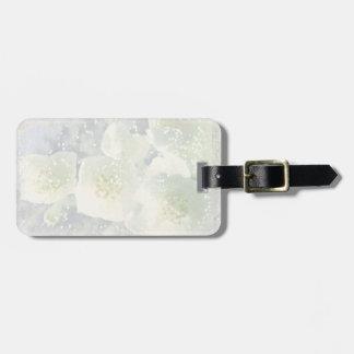 Jasmines Light Luggage Tag