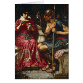 Jason and Medea Card