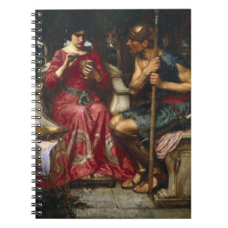 Jason and Medea Spiral Notebook