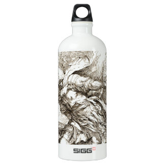 Jason and the Dragon (17th century Etching) SIGG Traveler 1.0L Water Bottle