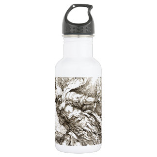 Jason and the Dragon (17th century Etching) Stainless Steel Water Bottle