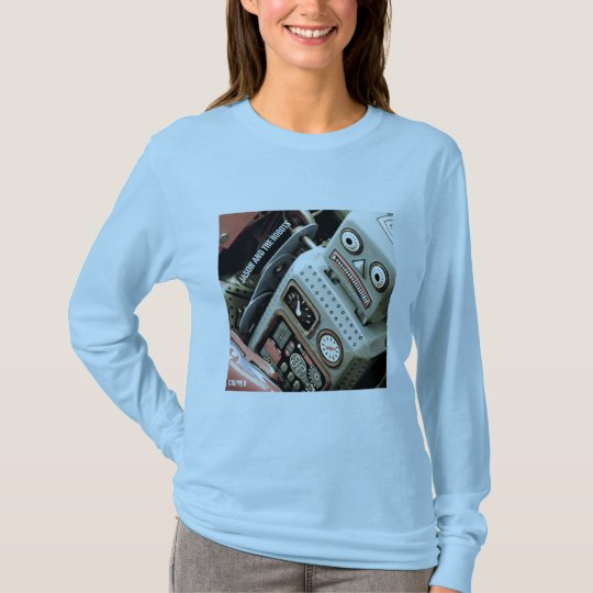 Jason and the Robots women's longs sleeve shirt