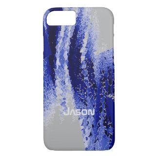 Jason Blue & Grey iPhone 7 case