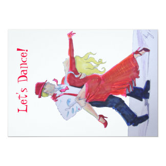 Jason Donovan Kristina Rihanoff Foxtrot Cartoon Card