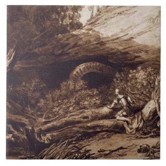 Jason grabado por Charles Turner 1773-1857 ing Tejas Cerámicas