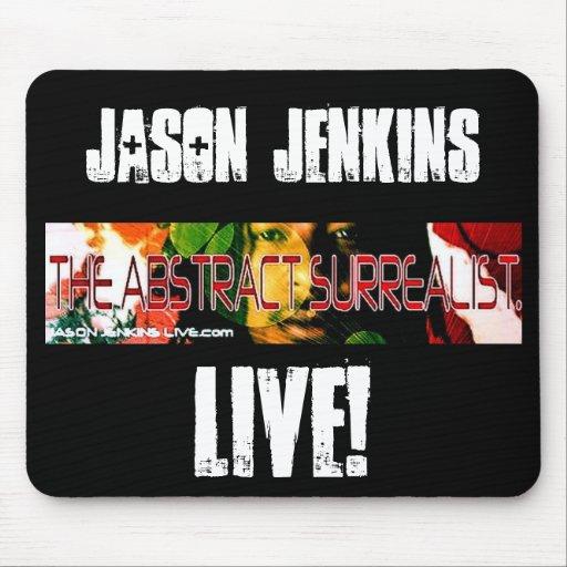 JASON JENKINS, LIVE! MOUSE PAD