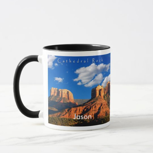 Jason on Cathedral Rock and Courthouse Mug