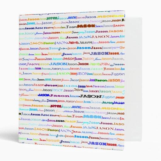 Jason Text Design II Binder