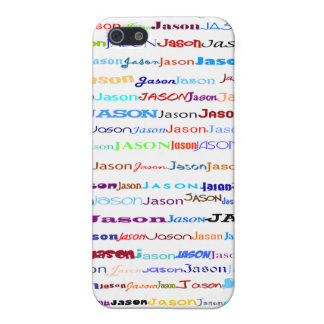 Jason Text Design II  Case For iPhone SE/5/5s
