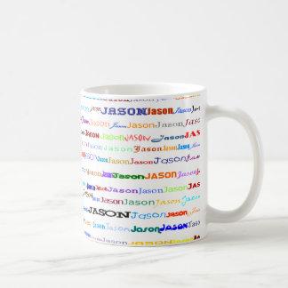 Jason Text Design II Mug II