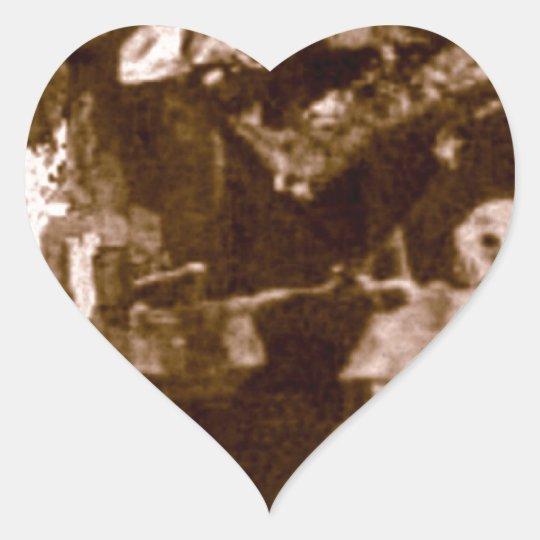Jason Wing and the Bear Heart Sticker