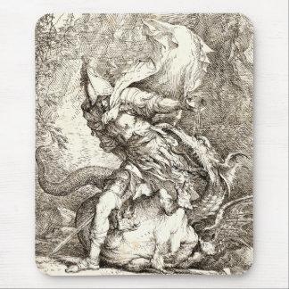 Jason y el dragón (aguafuerte del siglo XVII) Tapete De Ratón