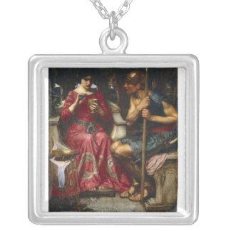 Jason y Medea de John William Waterhouse Colgante
